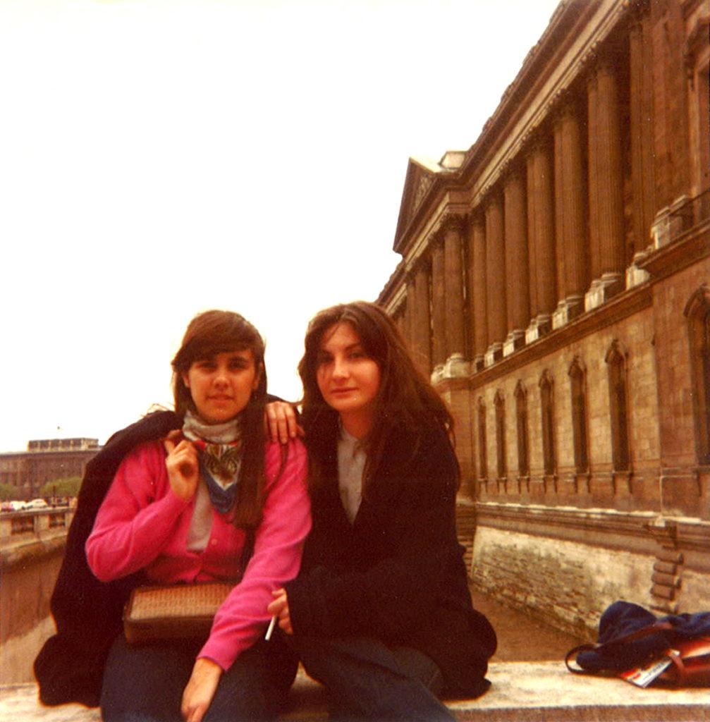 Gita a Parigi Classe V B 1981