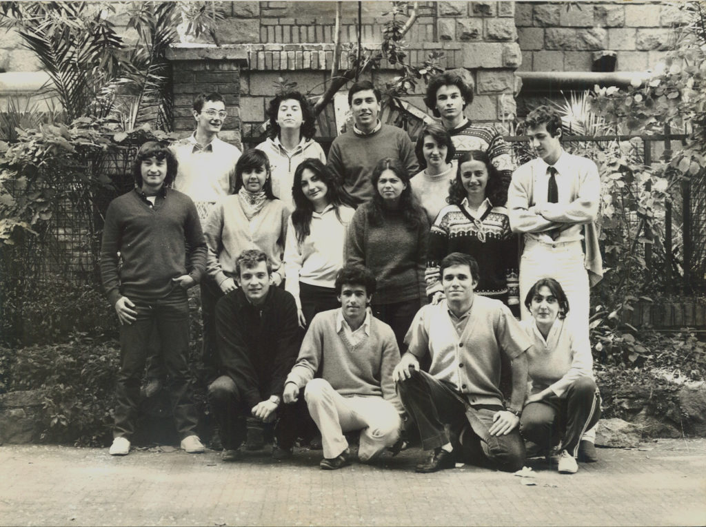 Classe IV B 1981